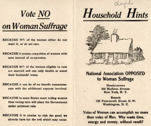 no suffrage