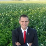 Wearing a nice suit in a potato field apparently makes sense to Rep. Alex Willette, even if there is not a single potato farmer in Maine who would ever do this.