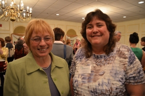 Janet Mills and Heidi Brooks