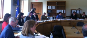 Appropriations and Financial Affairs Committee members hard at work in May.