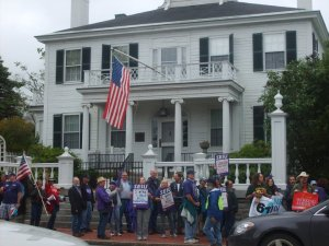 Maine state employees protest in 2011