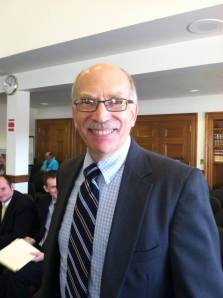 Director of Office of Policy and Management former state senator Richard Rosen (R-Bucksport)