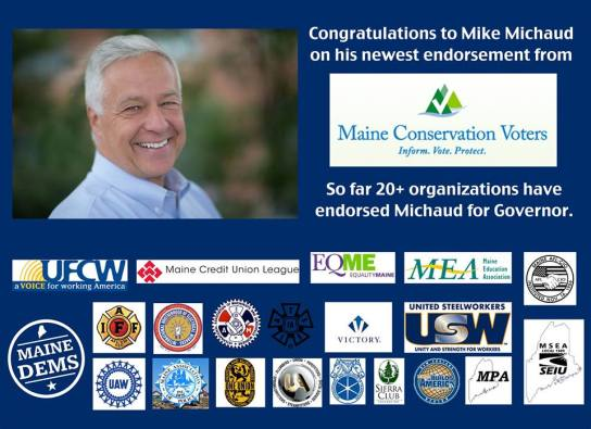 mike endorsements