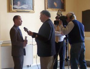 Rep. Corey Wilson (R-Augusta) interviewed by WCSH in 2013.