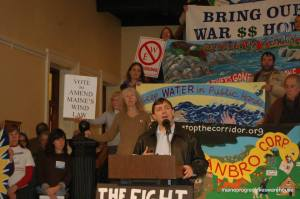 Troy Jackson speaking at 3rd Annual Rally for Unity on January 8th in Hall of Flags.