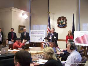Governor LePage rolls out FY 2016-17 biennial budget proposal