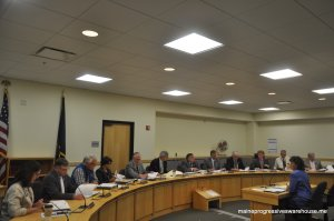 GOC meeting with OPEGA director Beth Ashcroft, 7/1/15, to discuss whether or not to investigate the allegations against Governor Paul LePage. The committee voted 12-0 to do so and will meet again July 17.